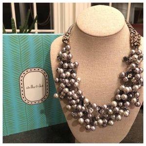 Stella & Dot Jewelry - Stella & Dot pearl and jewel necklace